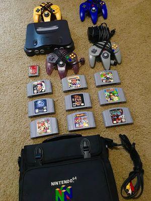 Nintendo 64 bundle for Sale in Raleigh, NC