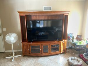 Entertainment center for Sale in Rancho Cucamonga, CA