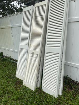 "Bifold Closet Doors 30/79"" $25 ea 2/$40 5/$90 for Sale in Davie, FL"