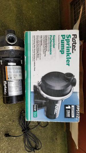 Sprinkler Pump for Sale in Norfolk, VA