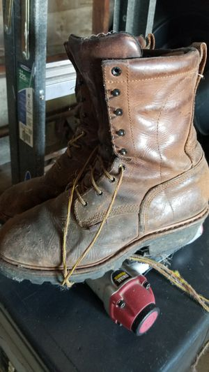 Lineman boots redwing for Sale in Bloomington, CA