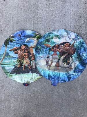 Moana balloons for Sale in Concord, CA