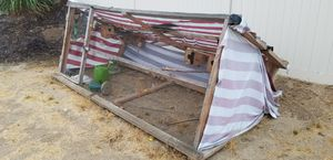 Large bird cage avairy chicken coop for Sale in Riverside, CA