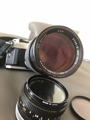 AE-1 Canon SLR Camera with lenses for Sale in Coral Gables, FL