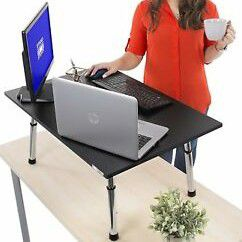 Raises Working Surface to standing - Ergonomic Stand Steady Executive Standing Desk only $30 for Sale in Glendale, AZ