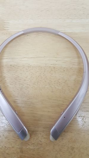 LG-TONE Platinum HBS-1100 Wireless In-Ear Behind-the-Neck Headphones - Rose Gold for Sale in Baltimore, MD