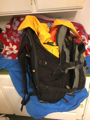 JACK WOLFSKIN TREKKING PACK , Goretex bivy sack , & lite40 sleeping bag ; Boots 11 for Sale in Oregon City, OR