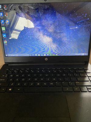 "HP - 14"" Laptop - AMD Athlon Silver - 4GB Memory -128GB SSD -Jet Black for Sale in Jacksonville, NC"