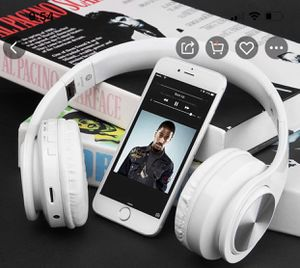 Headphone wireless Bluetooth, microphone, noise cancellation and led light for Sale in Bell Gardens, CA