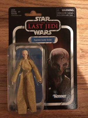 "Star Wars The Vintage Collection Supreme Leader Snoke 3.75"" action figure for Sale in Simpsonville, SC"