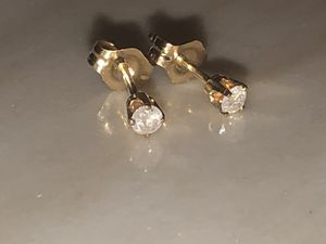 Diamond stud earrings for Sale in Fort Mill, SC