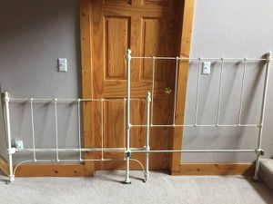 Vintage iron bed for Sale in Wellington, CO