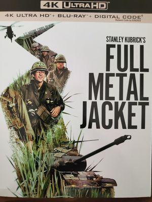 Full Metal Jacket 4k for Sale in Perris, CA