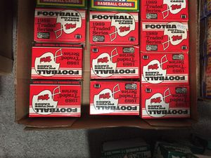 1989 topps traded football traded series for Sale in Paramus, NJ