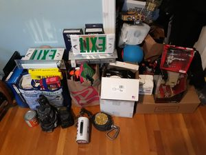 Gigantic deal on an assortment of items..new home decor and lighting..starwars collectables in packaging among other collectable toys for Sale in Boston, MA
