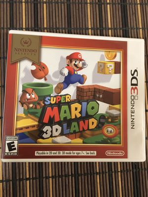 Super Mario 3D Land Nintendo 3DS Game for Sale in Marina, CA