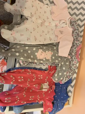Baby lot. Clothes, swaddles, hats, accessories and more for Sale in Virginia Beach, VA