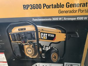 Brand new in box CAT RP3600 generator 4500W starting. for Sale in Oak Forest, IL