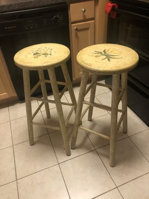 French country style stools for Sale in Alexandria, VA