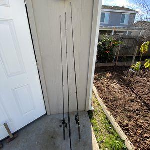 3 Fishing Poles for Sale in Elk Grove, CA