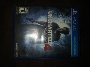 Uncharted 4 for Sale in Tulare, CA