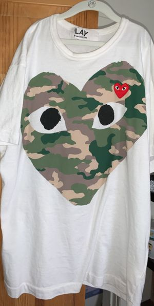 CDG camo t shirt for Sale in Revere, MA