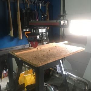 Craftsman 10 inch radial arm sawWorks great for Sale in Waterbury, CT