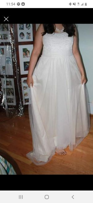 Wedding dress *used* for Sale in Mesquite, TX