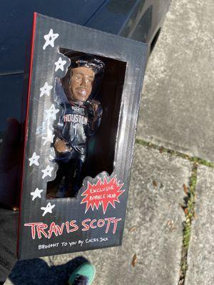 Travis Scott Exclusive Bobblehead for Sale in Houston, TX
