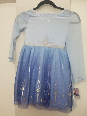 Elsa dress costume size 6 for Sale in Fullerton, CA