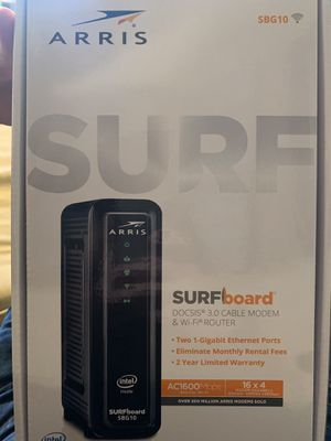 SURFboard DOCSIS 3.0 Cable Modem & WiFi Router for Sale in Martinez, CA