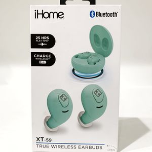 iHome XT-59 True Wireless Earbuds with Charging Case for Sale in Auburn, WA