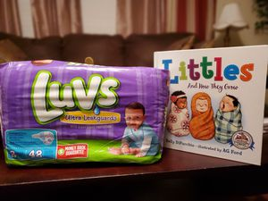 Luvs Size 2 Diapers for Sale in Meridian, MS