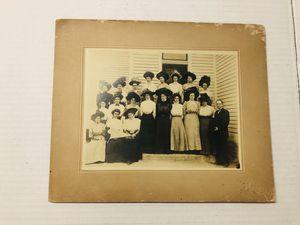 Antique 1909 Philathea Class Cabinet Photo Jacksboro, TX 8x10 for Sale in Rowlett, TX