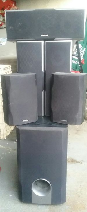 Onkyo home surround sound system for Sale in Redwood City, CA
