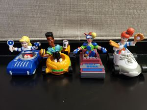 Burger King Kids Club Gang Transporters 1990 Vintage Figure for Sale in Pembroke Pines, FL