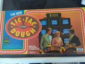 Vintage Tic Tac Dough board game for Sale in Pawtucket, RI