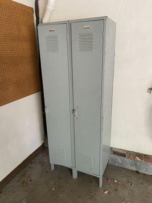Gray locker room/high school metal locker for Sale in Presto, PA