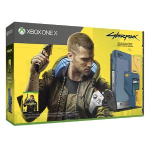 Xbox One X 1TB Cyberpunk 2077 Console Bundle, limited edition for Sale in St. Louis, MO