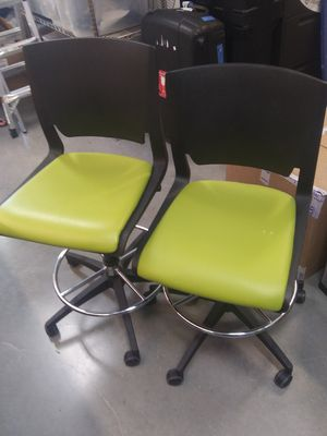 Six brand new office rolling chairs for Sale in West Jordan, UT
