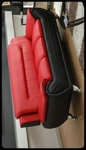 🚩SOFA🚩 Enna Red/Black Sofa for Sale in Washington, DC