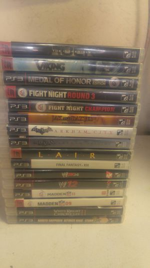 Ps3 games for Sale in San Jacinto, CA