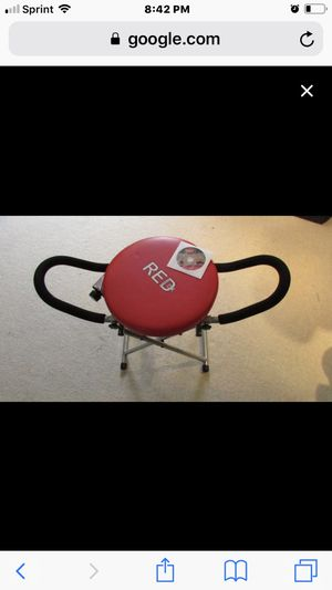 """New in box """"Fitness Quest Red XL Abdominal Exerciser for Sale in Lansing, MI"""