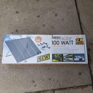 100 watt solar kit for Sale in Palos Heights, IL