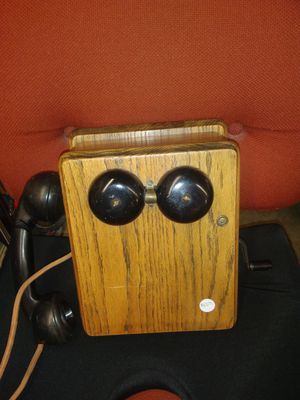 Antique oak wall phone for Sale in Chico, CA