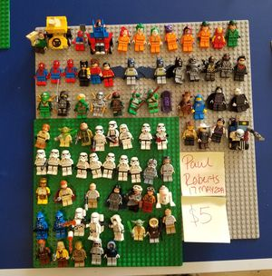 Lots of Lego Minifigures with Star Wars, Harry Potter, Marvel etc. Prices in pictures for Sale in Phoenix, AZ