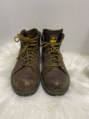 CAT Caterpillar Engineered Durability Work Shoe Leather Boot for Sale in Dearborn, MI