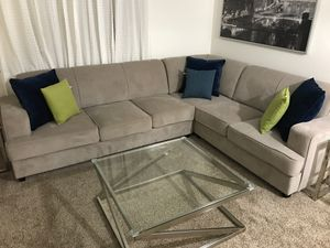 Sectional sofa couches with hideaway bed for Sale in Fremont, CA