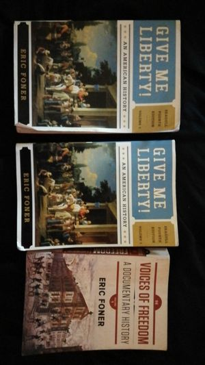 3 textbooks I used for DVC history course for Sale in Hayward, CA