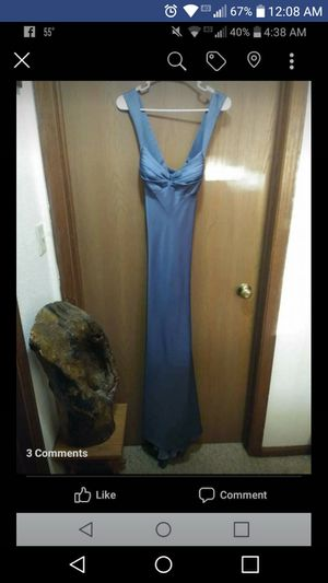 Slate gray prom dress size 10 for Sale in Owatonna, MN